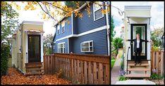 Scorned Divorcee Builds Wide House To Get Revenge On Greedy Ex-Husband Tiny Little Houses, Tiny House, Spite House, Le Divorce, Hidden Rooms, Secret Rooms, Diy Pallet Furniture, Wood Creations, Next Door