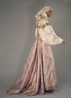 Festival Costume of a Cossack Woman Late 19th Century-Early 20th Century Uralsk…