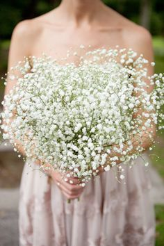 This would be one inexpensive bouquet! I think it would be great for the bridesmaides. It also dries nicely.