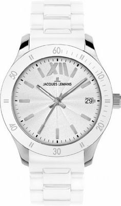 Jacques Lemans Men's 1-1622B Rome Sports Sport Analog with Silicone Strap Watch Jacques Lemans. Save 43 Off!. $72.99. Quartz movement. Chronograph watch, stainless steel case. Water-resistant to 100 m (330 feet). Case diameter: 44 mm. Hardened crystex crystal