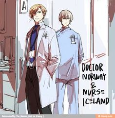 Doctor Norway and nurse Iceland