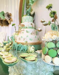 Jungle/Safari Baby Shower Party Ideas | Photo 9 of 24