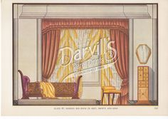 40-art-deco-bedroom.jpg (1000×708) Decorative Draperies & Upholstery by Edward Thorne Descriptive text by Henry W. Frohne Publisher: Garden City Publishing Co., Inc., New York ---1937---