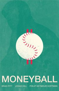Moneyball - minimalist movie poster