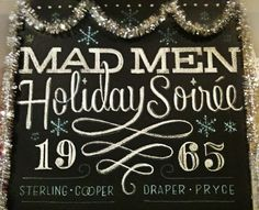 Mad Men Holiday Soiree