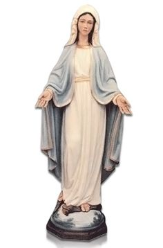 The Our Lady of Lourdes Large Fiberglass Statues are made in Italy where the statues were created. The Statues are made for indoor and outdoor use. They are made in Italy by some of the finest fiberglass experts in the World. The color finish is wonderful and has a magnificent shine.