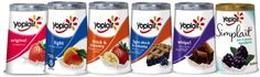 Yoplait yogurt (though I gotta admit, I don't have a taste for yogurt—I only prefer the frozen kind)
