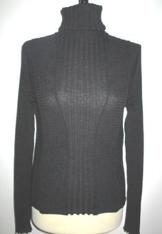 * * * A-K-R-I-S .punto Rollkragenpulli schwarz, Gr.42 * * * | eBay