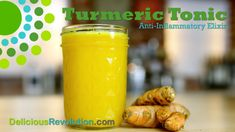Turmeric Tonic:  Anti-cancer/Alzheimer's/Arthritis/IBS/inflammation.  Pro-AWESOME!