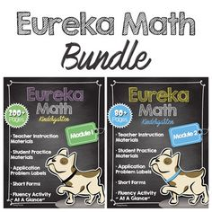 Eureka Math Engage New York Companion BUNDLE***Module 1 + Module 2***KindergartenLooking for ways to supplement your Eureka math curriculum? Look no further. This bundle contains all youll need to support instruction of daily Eureka math lessons. Teacher Instruction MaterialsAll 37 lessons (Module1) + 10 lessons (Module2) require the use of visuals to guide students through concepts - go here to find what youll need to introduce and reinforce content concepts in colorful, engaging ways with…