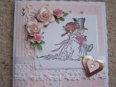 LOTV - Wedding Couple - http://www.liliofthevalley.co.uk/acatalog/Stamp_-_Wedding_Couple.html