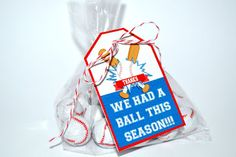 Baseball or T-ball Coach Printable Thank You Gift Tag, perfect for tying onto any coach gift this season