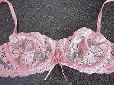 Victorias secret Beautiful sexy lace Bra size 36 C, EUC, Underwire #VictoriasSecret #Demis