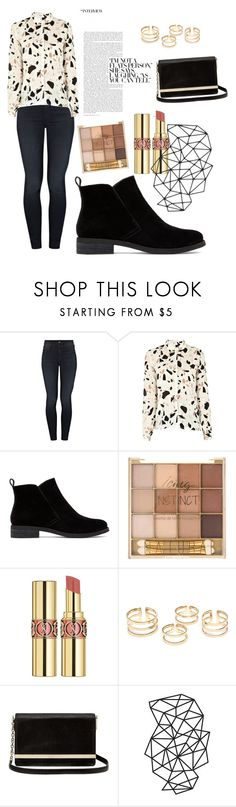 """""""Untitled #135"""" by vanessaa2022 ❤ liked on Polyvore featuring Mother, SECOND FEMALE, Lucky Brand, Yves Saint Laurent and Diane Von Furstenberg"""