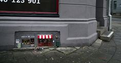 Anonymouse Are Opening Tiny Shops For Mice In Sweden   Bored Panda