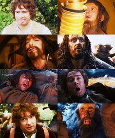 Weird faces of the Hobbit