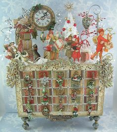 Artfully Musing Matchbox Advent Calendar