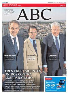 La portada de ABC del jueves 6 de julio