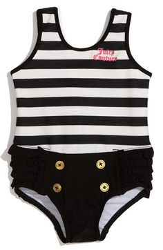 Juicy Couture One Piece Swimsuit (Infant) | Nordstrom