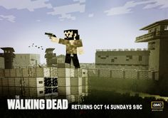 Skin Pack The Walking Dead Minecraft Xbox Edition - Skins para minecraft the walking dead