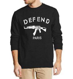 #BestPrice #Fashion New Arrival PROTECT PARIS AK47 men sweatshirt autumn winter 2016 fashion hoodies cool streetwear hip hop style clothing
