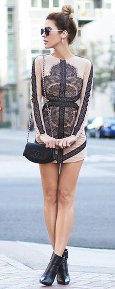 DRESS: http://www.glamzelle.com/products/olivia-contrast-lace-panel-boycon-dress