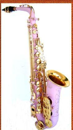 Purple saxophone! ➕