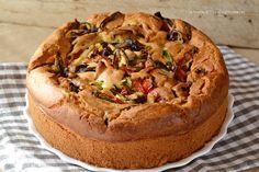 Torta di verdure soffice e veloce