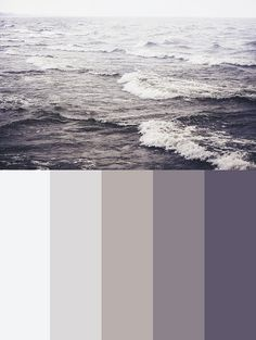 These colours form the basis of the colour board. It combines neutral grey's with advancing purples. There is no obvious gender of the room in the colour scheme; it works together to create a neutral, multi-sex environment.