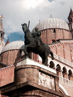 Condottiero Gattamelata by Donatello, Padova