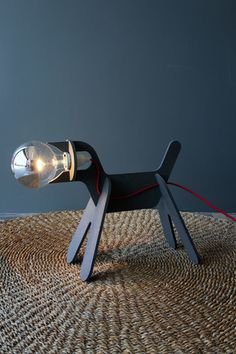 Woof! Check out this dog light.