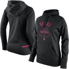 Chicago Bears Nike Women's Breast Cancer Awareness Hoodie - Black