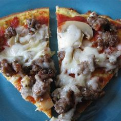 Here is a delicious grain free, gluten free pizza crust. For full nutritional information go to wholelifestylenutrition.com