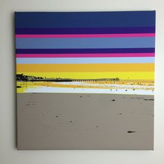 "Gallery: Pop series ""Crystal Pier - Morning"" 24 x 24 inch, digital art & gel on canvas. ----------------------------------- http://JonSavageGallery.com ---------------------------------- #art #artist #popart #popartist #digitalart #contemporary #contemporaryart #beach #sandiego #sunrise #PacificBeach #California"