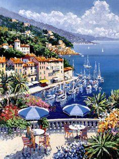 Portofino by Kerry Hallam
