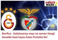 UEFA Şampiyonlar Ligi'nde yarın Benfica ile karşılaşacak olan Galatasaray, Lizbon'a geldi. Benfica - Galatasaray maçı ne zaman?, Hangi kanalda? Saat kaçta? , Benfica - Galatasaray canlı izle, Benfica - Galatasaray canlı ..