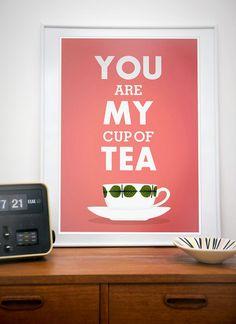 Sei la mia tazza da thé