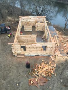 Oak Cabin Kit Schutt Log Homes And Mill Works Log Cabins