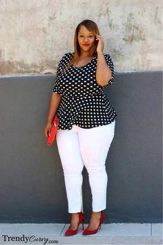 Mis puntadas de mujer: Que sí y que no para tallas grandes.