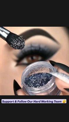 Almond Eye Makeup, Asian Eye Makeup, Smoky Eye Makeup, Edgy Makeup, Makeup Eye Looks, Eye Makeup Art, Eyeshadow Looks, Makeup Kit, Eyeshadow Makeup