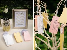 wishing tree guestbook idea