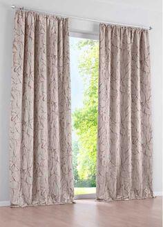 Jetzt anschauen: Verdunkelnder Vorhang, fertig genäht, kann schallschluckend und wärmeisolierend wirken. Vorderseite bedruckt, Rückseite hell und ohne Musterung, mit Kräuselband, waschbar. Maße = Stoffmaße (ca. Höhe/Breite).