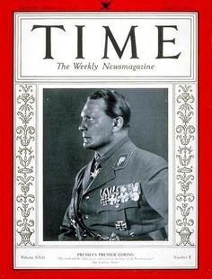 Hermann Göring - 21 Aug 1933