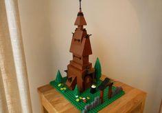 Stavkirke Advent Calendar, Gingerbread, Lego, Holiday Decor, Home Decor, Homemade Home Decor, Legos, Decoration Home, Interior Decorating