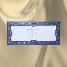 #plic pentru #bani din carton #albastru cu inserti aurii.