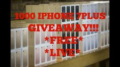 IPHONE 7 GIVEAWAY! 🔴 (1500 LEFT!) 🔥 BIGGEST GIVEAWAY EVER!!