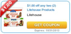 $1.00 off any two (2) Litehouse Products