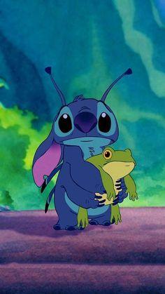 Disney Stitch, Lilo Ve Stitch, Stitch Movie, Disney Phone Wallpaper, Cartoon Wallpaper Iphone, Cute Cartoon Wallpapers, Disney Cartoons, Disney Animation, Cartoon Mignon