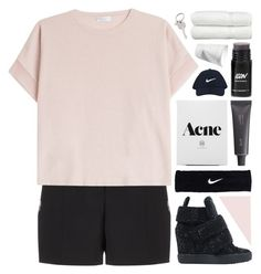 """life is worth living so live another day"" by annamari-a ❤ liked on Polyvore featuring Alexander Wang, Brunello Cucinelli, Giuseppe Zanotti, NIKE, Bite, Linum Home Textiles and Paul Smith"