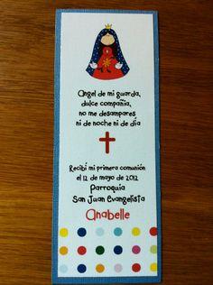 Virgencita PRINTABLE - first  communion